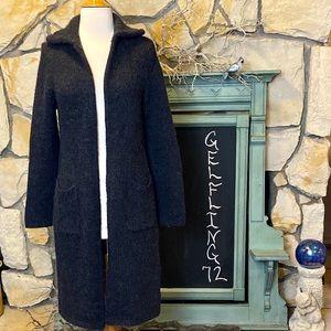 J Crew Alpaca Blend Long Cardigan Sweater